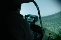 ヘリコプターフライトシミュレーター操縦体験&訓練