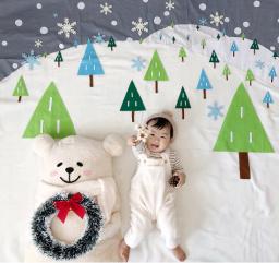 【静岡市・葵区】クリスマスねんねアート撮影会@MARK IS 静岡