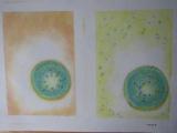 キゥイフルーツを描く in 甘楽教室