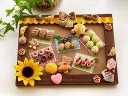 夏休み子どもわくわく企画「ねんどで楽しいパン作り」