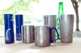 【夏限定メニュー】サンドブラスト ステンレス「ブルーボトル・ビアタンブラー・マグカップ」
