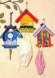 クラフトスティックで簡単ワークショップ~お家型の可愛い壁掛けフックを作ろう!