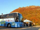 バスで行く定山渓 五大紅葉