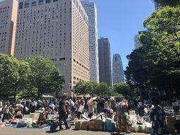 【都庁前】新宿中央公園 フリーマーケット【9:00~15:00】
