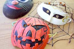 【ハロウィン限定メニュー】ハロウィン仮面づくり