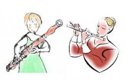 フルートとファゴットによる初夏のコンサート