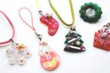 【おうちクリスマスを楽しもう!冬限定メニュー】UVレジンのクリスマスアクセサリー