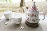 【おうちクリスマスを楽しもう!冬限定メニュー】クリスマスポットorマグカップの絵付け