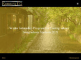 Winter Internship Program for Undergraduate / Postgraduate Students 2021 Komuro Consult...