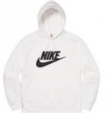 エレガントな雰囲気 3色可選 Supreme Nike Leather Hooded Sweatshirt 2020話題の商品 スタイル...