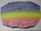 幻想風景を描く in 甘楽教室
